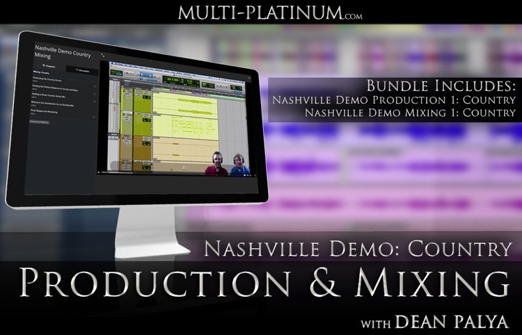 Multi Platinum Nashville Demo Country Bundle Interactive Course image 1