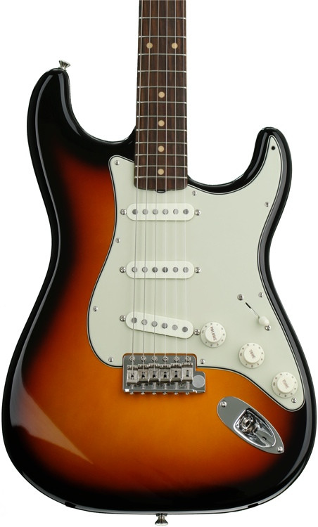Fender American Vintage \'59 Stratocaster - 3-color Sunburst with Rosewood Fingerboard image 1