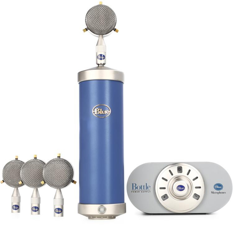 Blue Microphones Bottle Mic Locker Package image 1