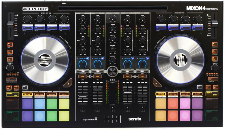 Mixon 4 4-channel DJ Controller