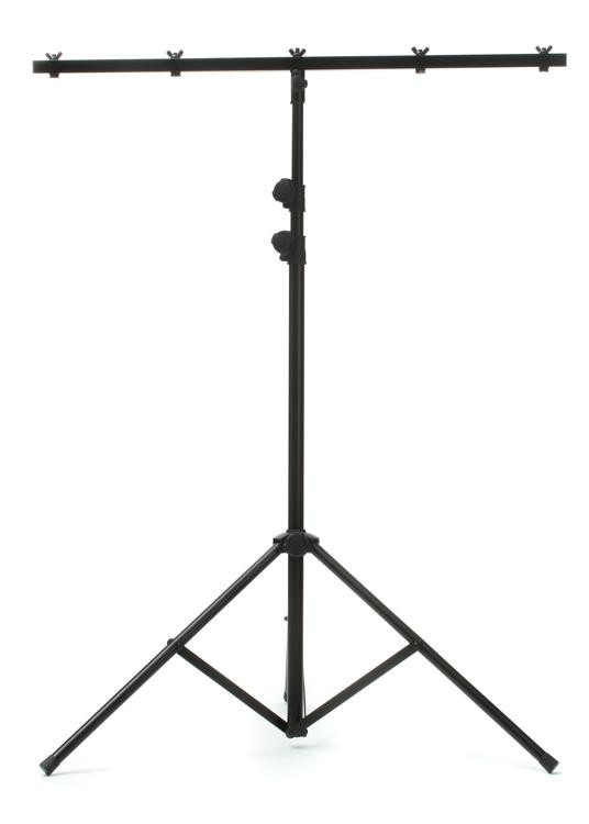 ADJ LTS-6 T-Bar Tripod Lightweight Lighting Stand image 1
