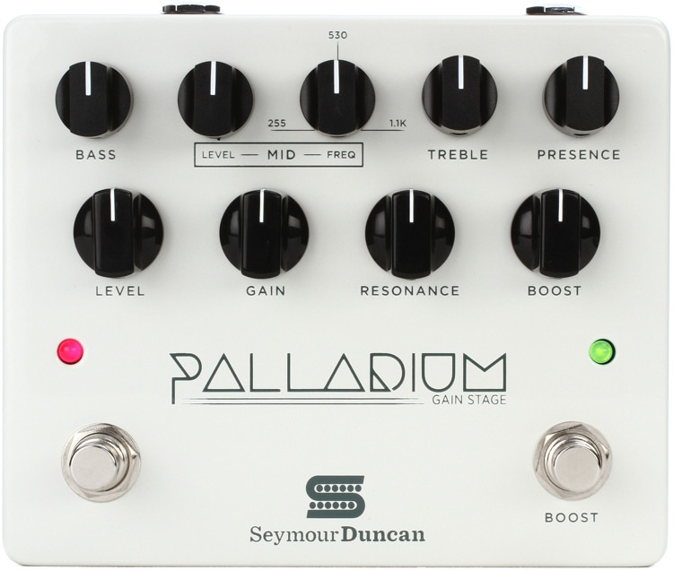Seymour Duncan Palladium Gain Stage Distortion Pedal - White image 1