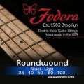 Fodera 28100 Nickel Roundwound 5-string Bass Strings - 0.028-0.100 Light High C