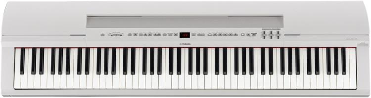 Yamaha P-255 Stage Piano - White image 1