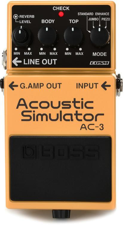 Boss AC-3 Acoustic Simulator Pedal image 1