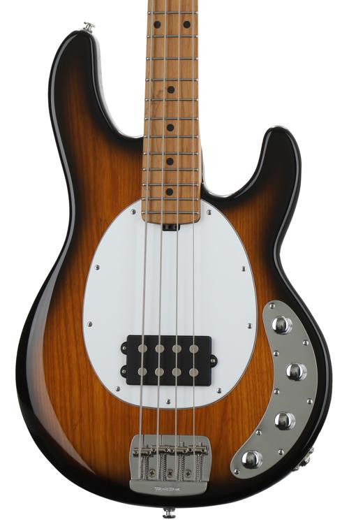 ernie ball music man stingray special 4h vintage tobacco with roasted maple fingerboard. Black Bedroom Furniture Sets. Home Design Ideas