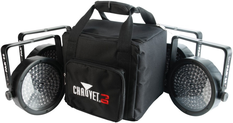 Chauvet DJ SlimPACK 56 LT RGB Par Package (4-Pack) image 1