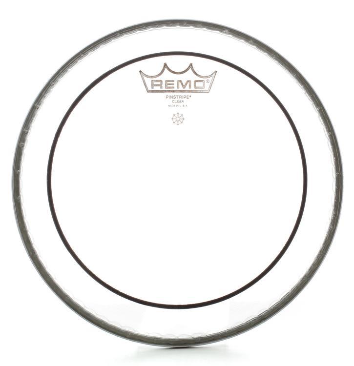 Remo Clear Pinstripe Drum Head - 8