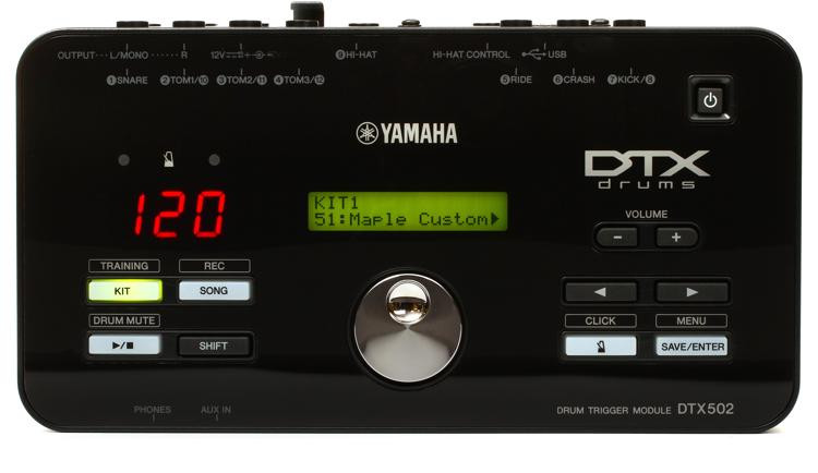yamaha dtx502 electronic drum trigger module sweetwater. Black Bedroom Furniture Sets. Home Design Ideas