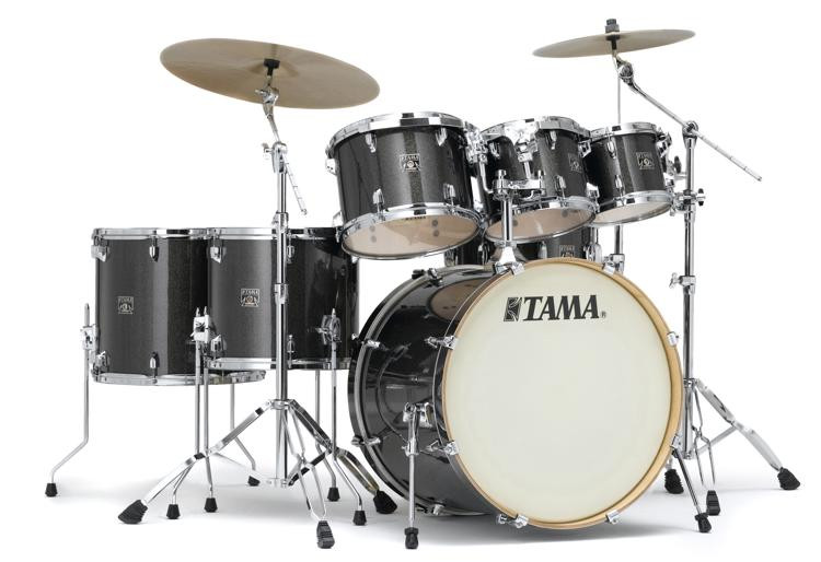 Tama CK72S Superstar Classic 7-piece Shell Pack - Midnight Gold Sparkle image 1