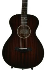 Taylor 522e 12-fret - Shaded Edgeburst, Mahogany back and sides