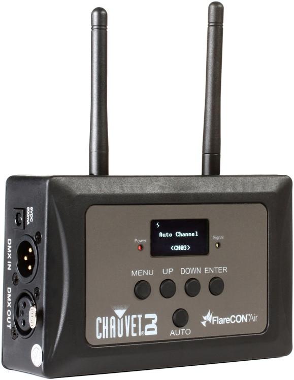Chauvet Wireless Dmx : chauvet dj flarecon air wireless dmx d fi transmitter receiver sweetwater ~ Hamham.info Haus und Dekorationen