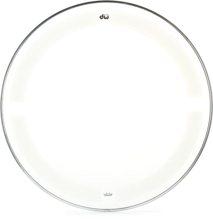 DW Coated/Clear Drumhead - 16