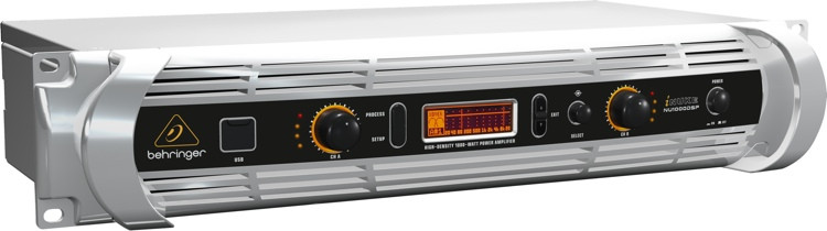 Behringer iNUKE NU1000DSP Power Amplifier with DSP image 1