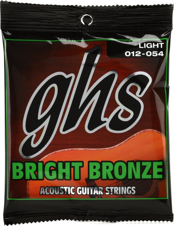 GHS BB30L Bright Bronze - 80/20 Bronze Light Acoustic Guitar Strings image 1