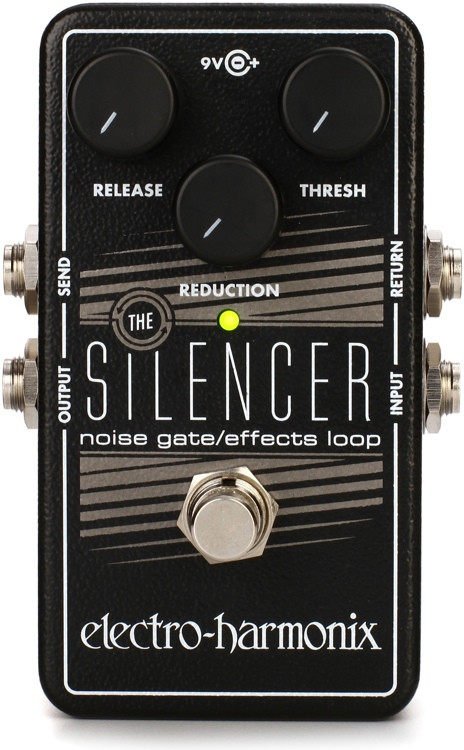 Electro-Harmonix The Silencer Noise Gate / Effects Loop Pedal image 1