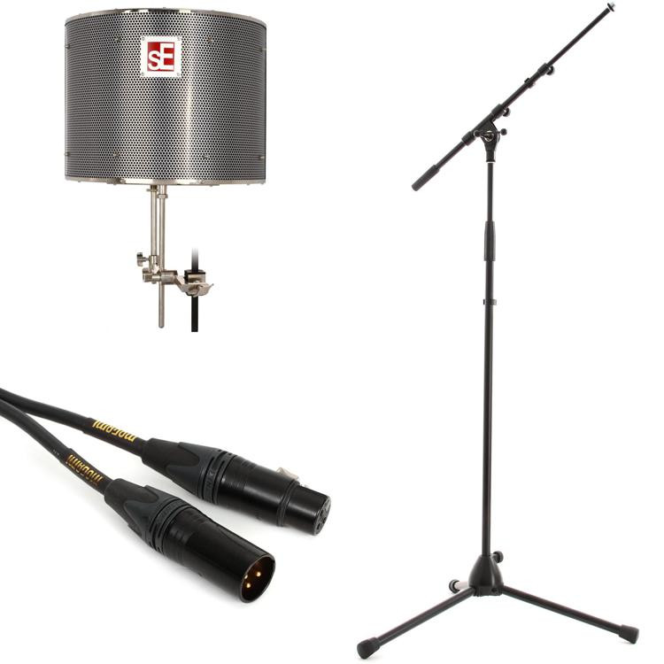 sE Electronics Reflexion Pro Pack - w/K&M Mic Stand & Mogami Mic Cable image 1