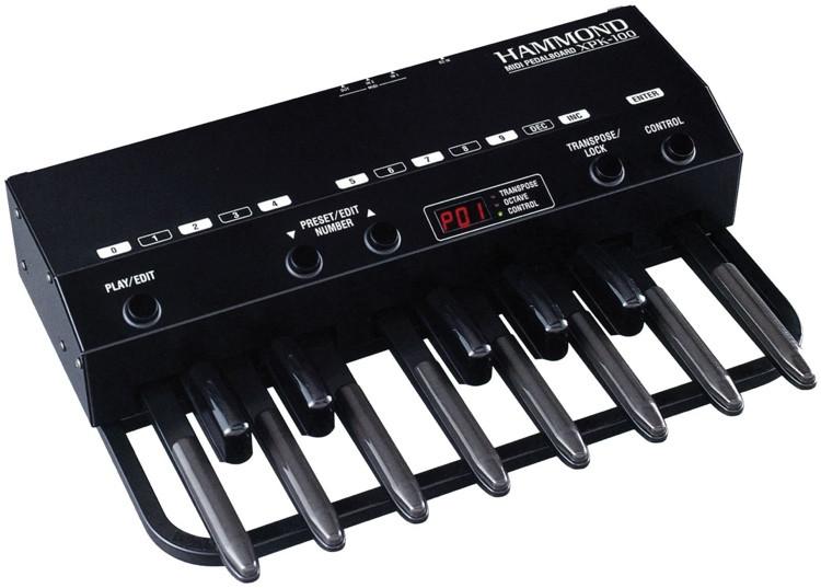 Hammond XPK-100 13-note MIDI Pedalboard image 1