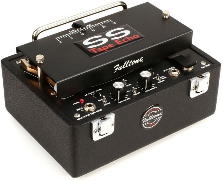 Fulltone Custom Shop SSTE Solid State Tape Echo Pedal image 1