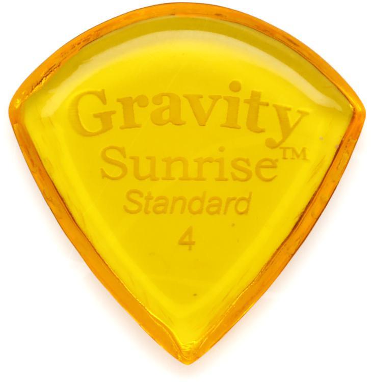 Gravity Picks Sunrise - Standard Size, 4mm, Polished image 1