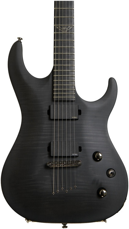 Washburn Parallaxe PXM20 - Flame Trans Black image 1
