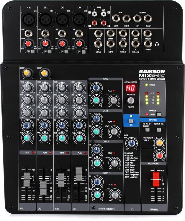 Samson MixPad MXP124FX image 1