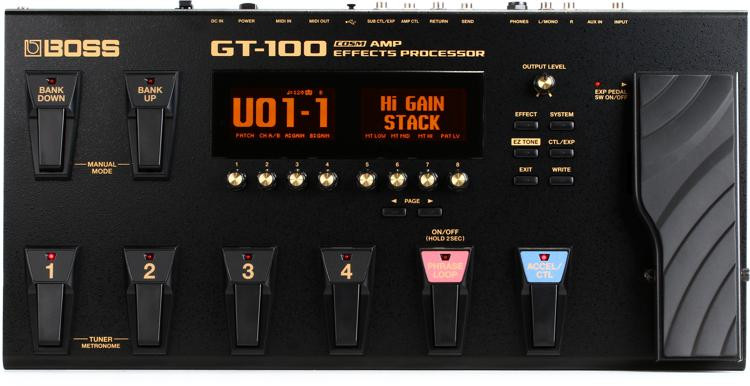 Boss GT-100 Guitar Multi-effects Pedal image 1