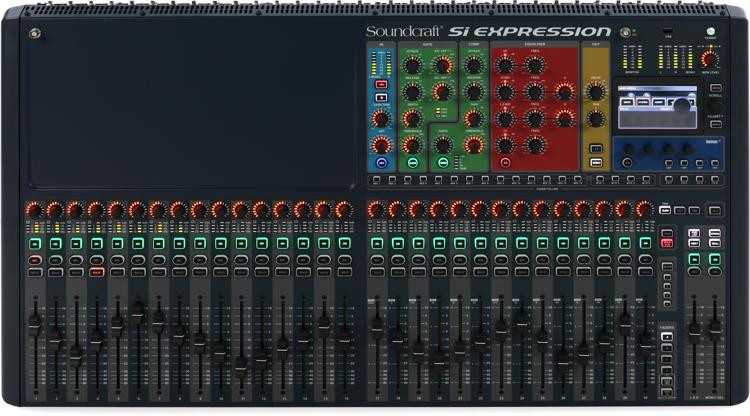 soundcraft si expression 3 digital mixer sweetwater. Black Bedroom Furniture Sets. Home Design Ideas