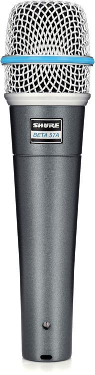 Shure Beta 57A Dynamic Microphone image 1