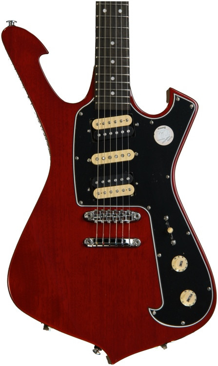 Ibanez FRM150TR Paul Gilbert Fireman Signature - Trans Red image 1