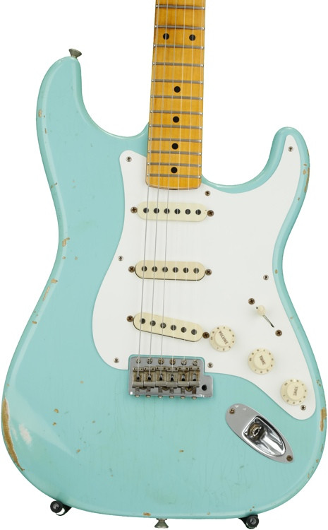 Fender Custom Shop 1956 Stratocaster Heavy Relic - Faded Seafoam Green image 1