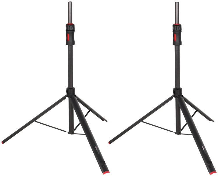 Gator Frameworks GFW-ID-SPKR SET ID Series Speaker Stands (set of 2) with Carry Bag image 1