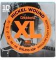 D'Addario EXL110 Nickel Wound Light Electric Strings 10-Pk