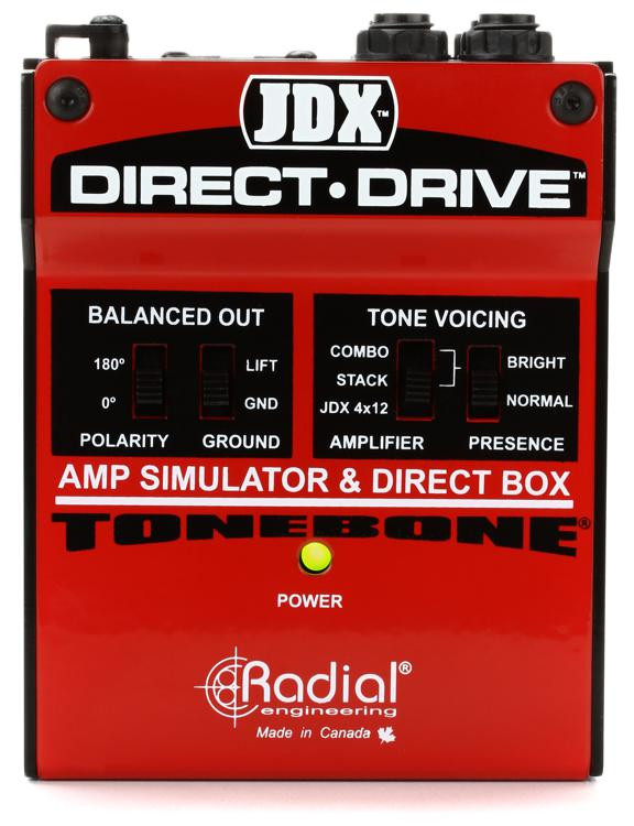 Radial JDX Direct-Drive - Active Guitar Amp Direct Box image 1