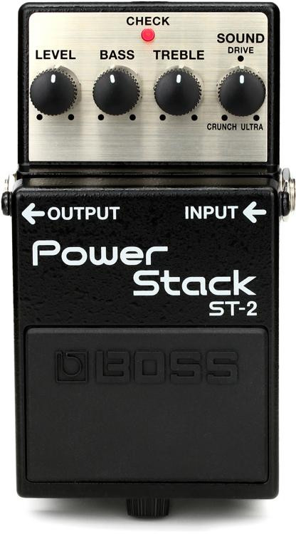 boss st 2 power stack overdrive pedal sweetwater. Black Bedroom Furniture Sets. Home Design Ideas