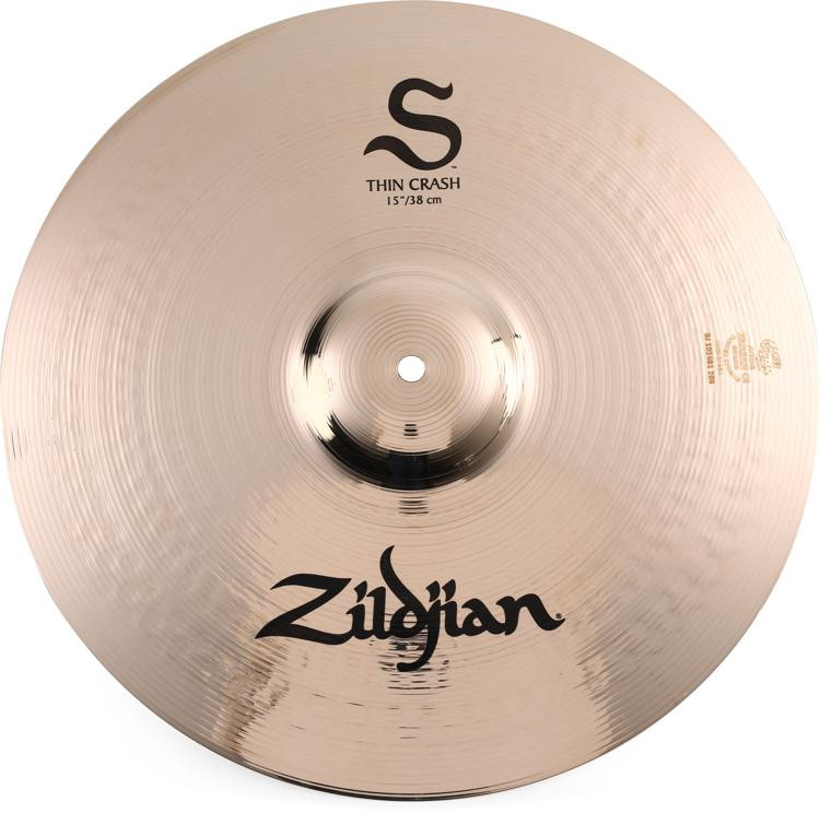 Zildjian S Series Thin Crash Cymbal - 15
