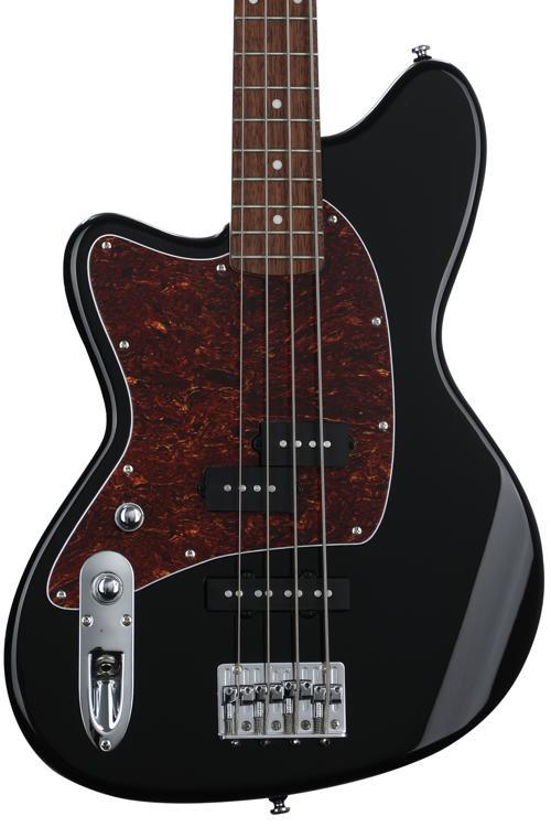 ibanez tmb 100 talman bass left handed black sweetwater. Black Bedroom Furniture Sets. Home Design Ideas