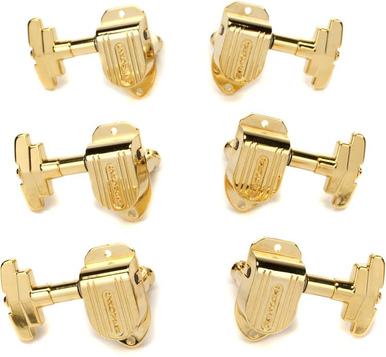 Grover 150G Imperial Tuners - 3+3 - Gold image 1