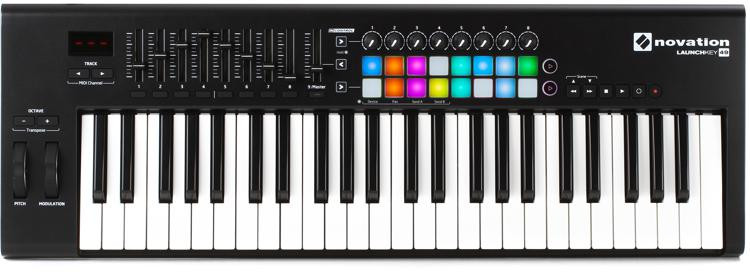 Novation Launchkey 49 Keyboard Controller image 1