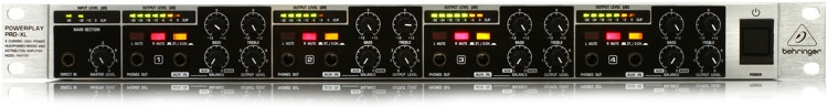 Behringer Powerplay Pro-XL HA4700 4-Ch Headphone Mixing/Distribution Amplifier image 1