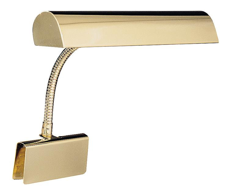 House of Troy GP14-7 Grand Piano Lamp - Polished Brass image 1