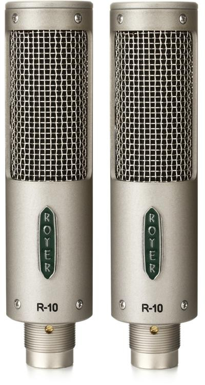 royer r 10 matched pair ribbon microphone sweetwater. Black Bedroom Furniture Sets. Home Design Ideas