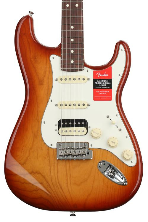 Fender American Professional HSS Shawbucker Stratocaster - Sienna Sunburst with Rosewood Fingerboard image 1