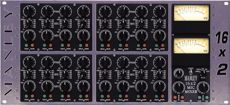 Manley 16x2 Analog Microphone Mixer image 1