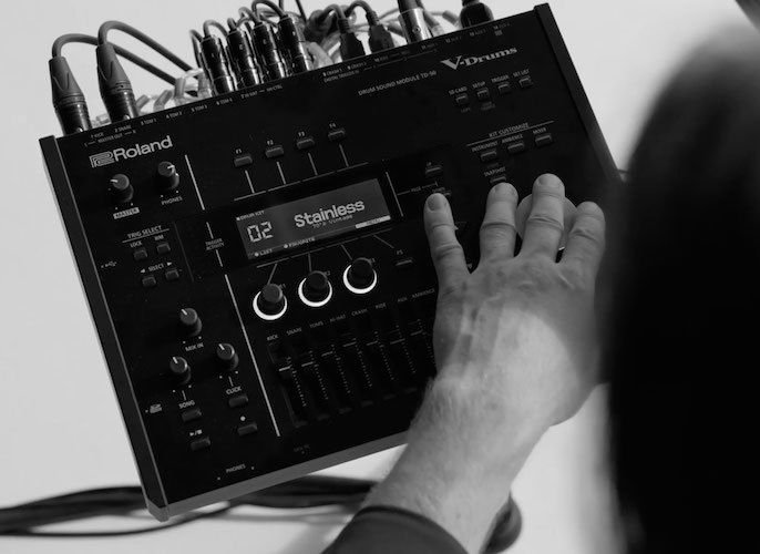 Roland Td 50kv Electronic Drum Set 5 Piece Sweetwater