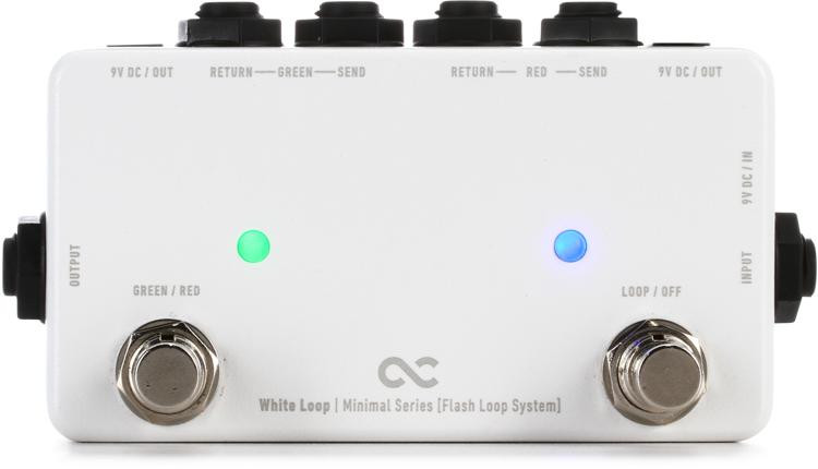 One Control White Loop Flash Switcher Pedal image 1