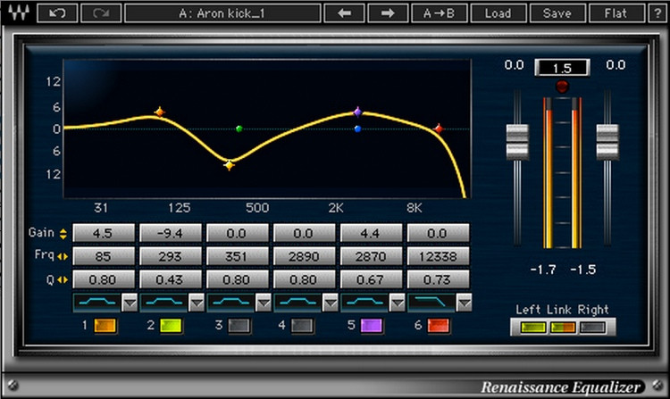 Waves Renaissance Equalizer Plug-in image 1