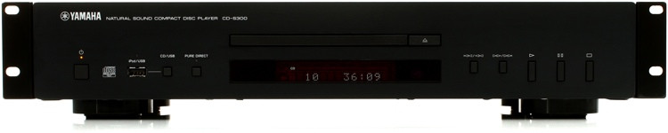 yamaha cd s300 rk rackmount cd player sweetwater. Black Bedroom Furniture Sets. Home Design Ideas
