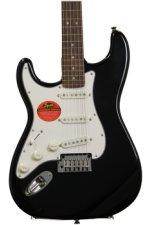 Squier Standard Stratocaster Left-handed - Black Metallic