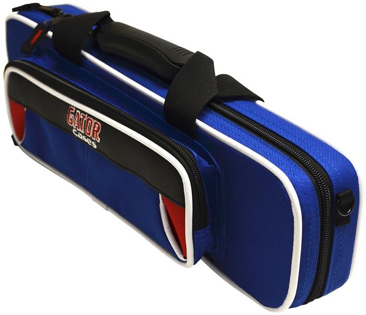 Gator GL-FLUTE-RB - Lightweight Flute Case, Red & Blue image 1